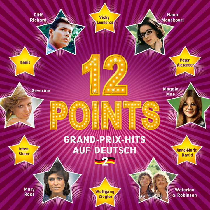 12 Points - Grand-Prix-Hits auf Deutsch, Vol.2: Various Artists