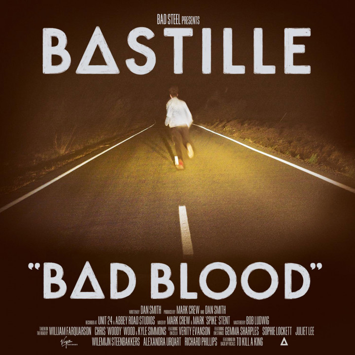 Bastille Bad Blood Album Cover 2013