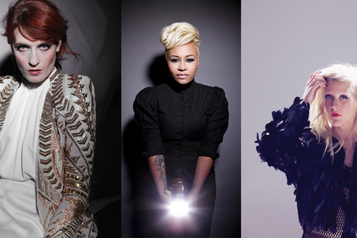 Florence + The Machine, Emeli Sandé, Ellie Goulding