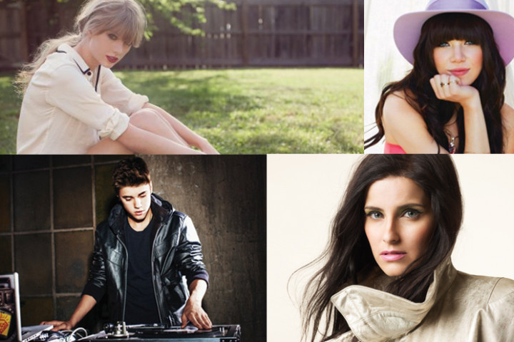 iTunes Sparaktion Taylor Swift, Robbie Williams, Justin Bieber, nelly Furtado