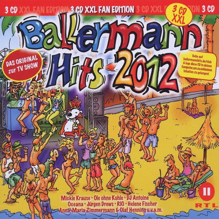 Ballermann Hits 2012 XXL 3CD: Various