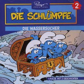 Die Schlümpfe, 02: Die Wassersucher / Jokeys Reise, 05099921373626