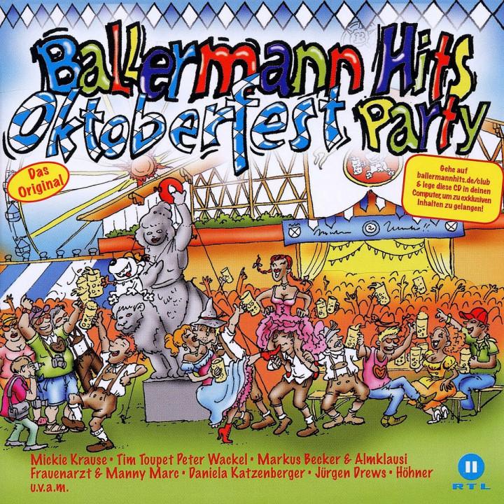 Ballermann Hits Oktoberfest Party: Various