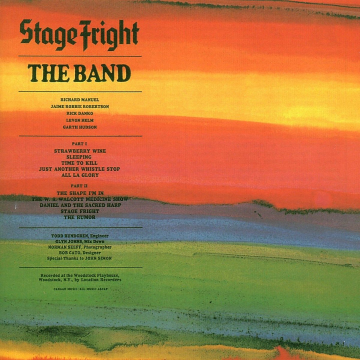Stage Fright: Band,The