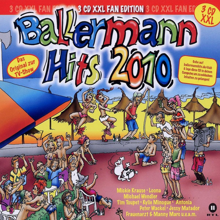 Ballermann Hits 2010-XXL Version: Various