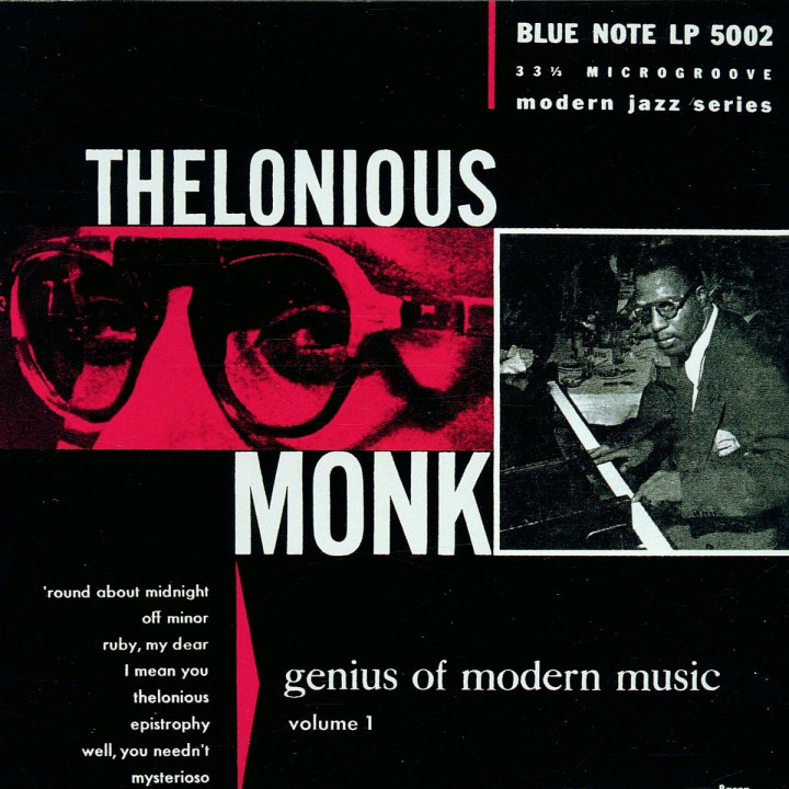Genius Of Modern Music Vol.1: Monk,Thelonious