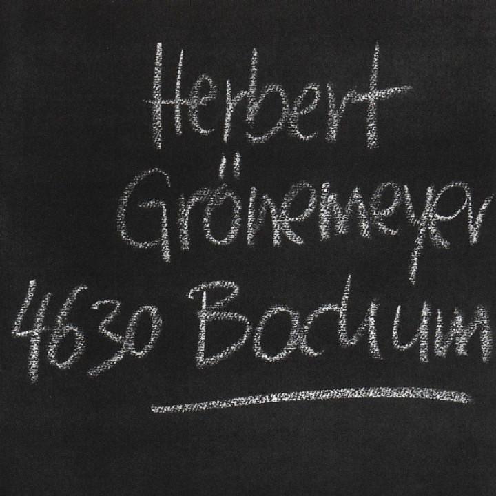 Bochum: Grönemeyer,Herbert