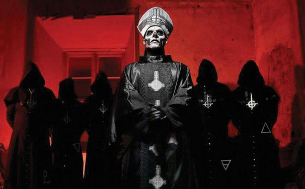 Ghost B.C., Ghost B.C. sind Support Act für Iron Maiden