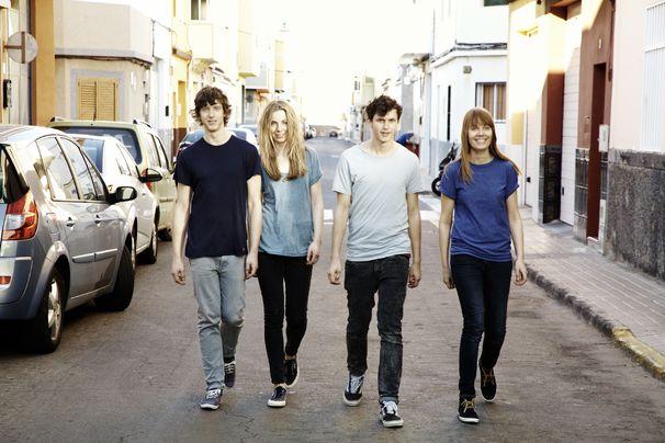 Tonbandgerät, Tonbangerät haben ihre neue Single Auf Drei veröffentlichen