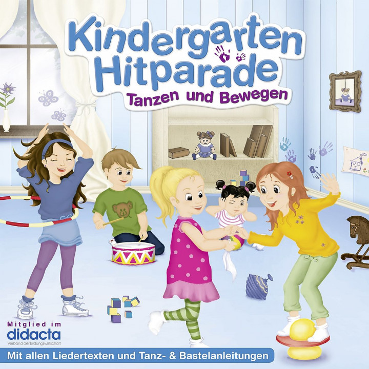 Die Kindergarten HItparade - 01: Tanzen & Bewegen: Various Artists