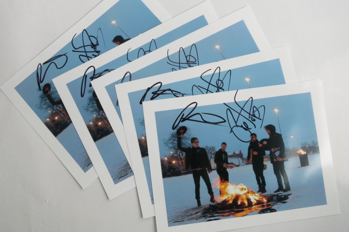 Fall Out Boy Autogramme