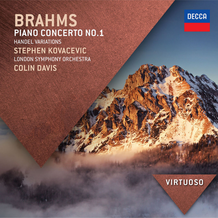 Brahms: Piano Concerto No.1; Handel Variations