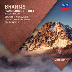 Virtuoso, Brahms: Piano Concerto No.1; Handel Variations, 00028947854043
