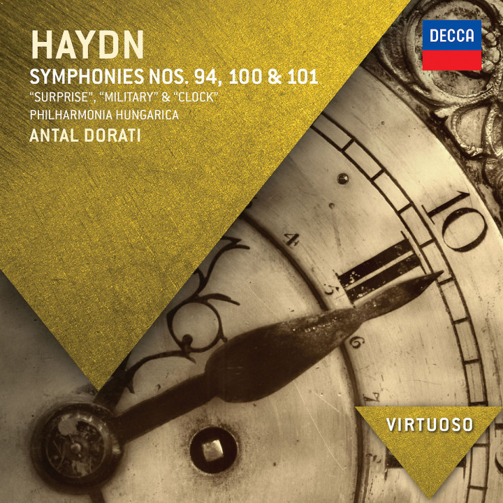 "Haydn: Symphonies Nos.94, 100 & 101 - ""Surprise"", ""Military"" & ""Clock"""