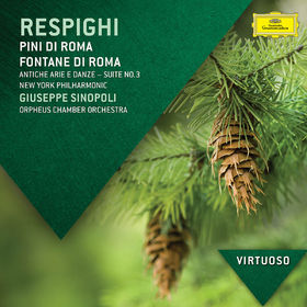 Virtuoso, Respighi: Pini di Roma; Fontane di Roma; Gli Uccelli, 00028947854104