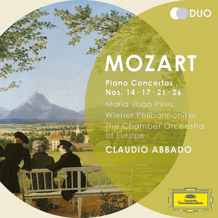 Klavierkonzerte Nr.14,17,21,26: Pires,Maria Joao/Abbado,Claudio/WP/COE