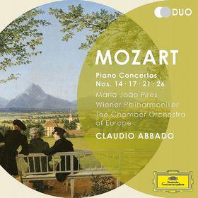 Duo, Mozart: Piano Concertos Nos.14, 17, 21 & 26, 00028947914358