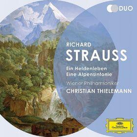 Duo, Strauss, R.: Ein Heldenleben; Eine Alpensinfonie, 00028947914266