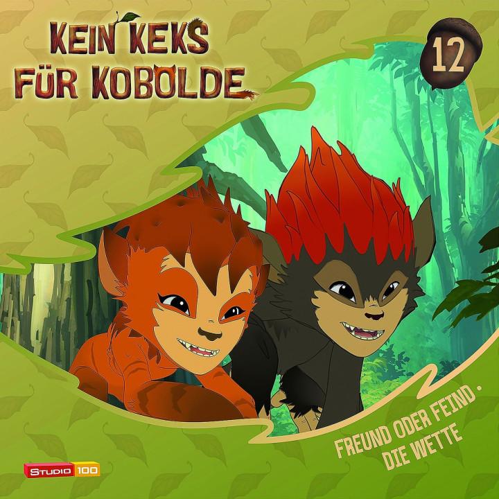 12: Freund oder Feind/Die Wette: Kein Keks für Kobolde (TV-Hörspiel)