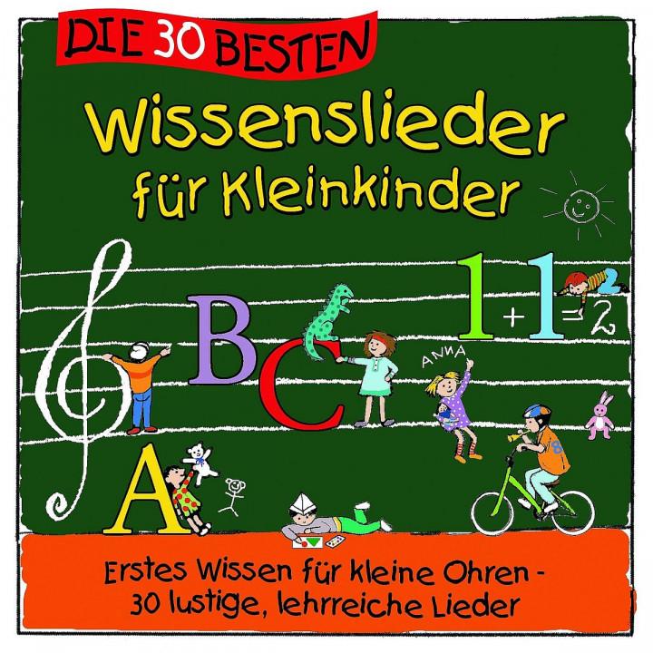 Die 30 Wissenslieder für Kleinkinder: Sommerland, S./Glück, Karsten/Kita-Frösche, Die
