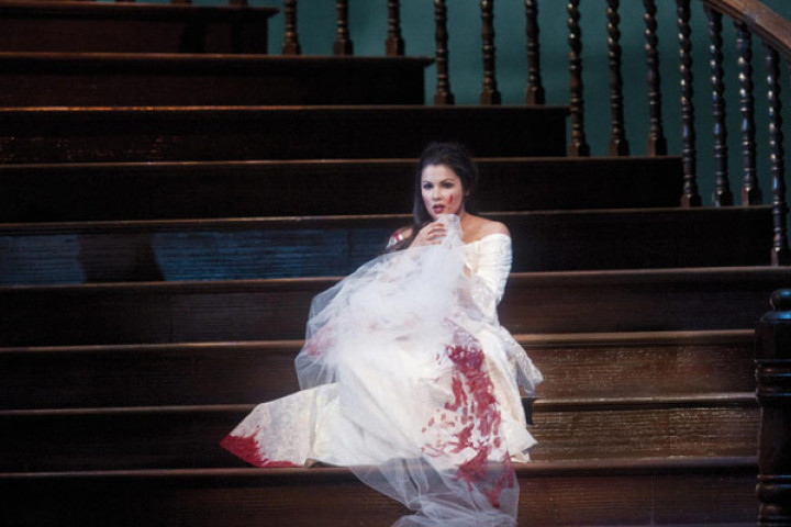 Anna Netrebko in Lucia di Lammermoor