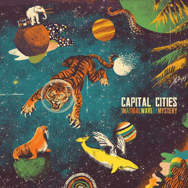Capital Cities Albumcover In A Tidal Wave Of Mystery