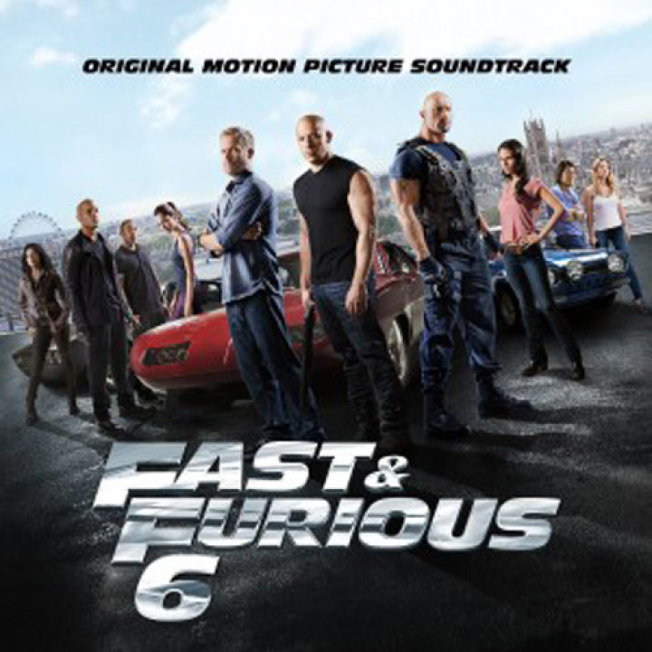 Fast & Furious 6 OST Cover
