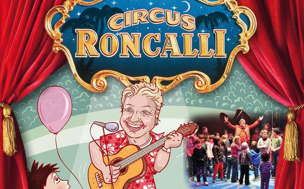 Volker Rosin, Der König der Kinderdisco live und gratis im Circus Roncalli!