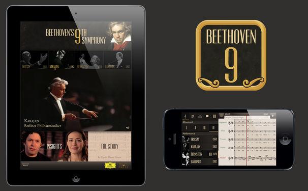 Herbert von Karajan, Sehen, was man hört: Beethovens 9. für iPad, iPhone und iPod Touch