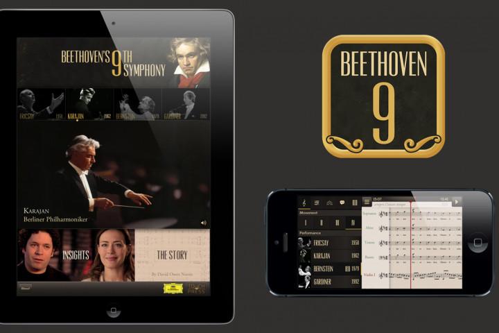 Beethovens 9. Symphonie für iPhone und iPad