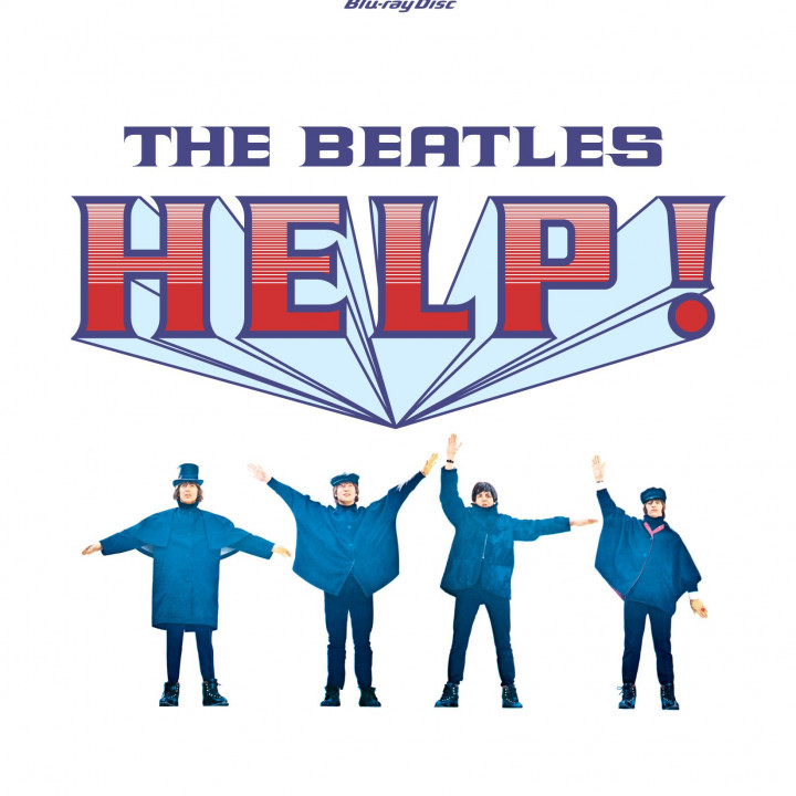 The Beatles Help! Packshot