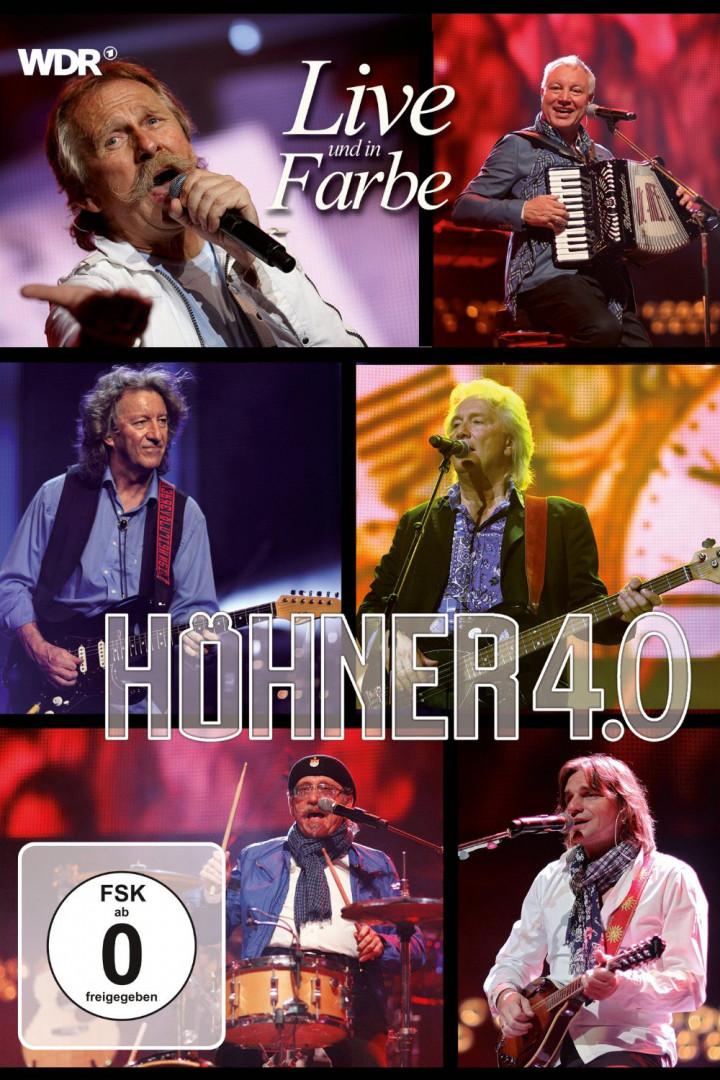 Höhner 4.0 Live und in Farbe DVD