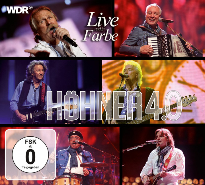 höhner 4.0 live und in farbe cd