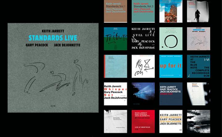 Keith Jarrett Trio - 1983-2013 Alben