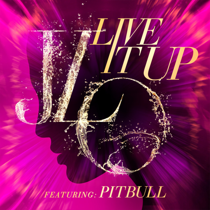 Jennifer Lopez Live It Up 2013 Cover