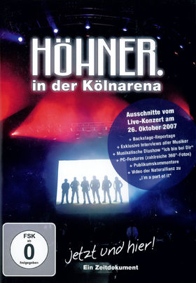 Höhner, Jetzt Und Hier! Ein Zeitdokument, 05099951229597