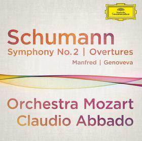 Claudio Abbado, Schumann: Symphonie Nr. 2, Ouvertüren: Manfred, Genoveva, 00028947910619