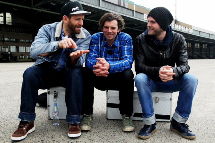 Sportfreunde Stiller EPK Screen