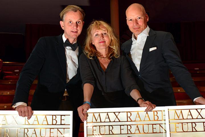 v.l.n.r. Max Raabe, Annette Humpe, Christoph Israel