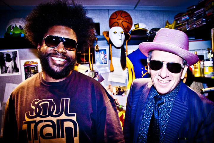 Elvis Costello und Questlove (The Roots) 2013