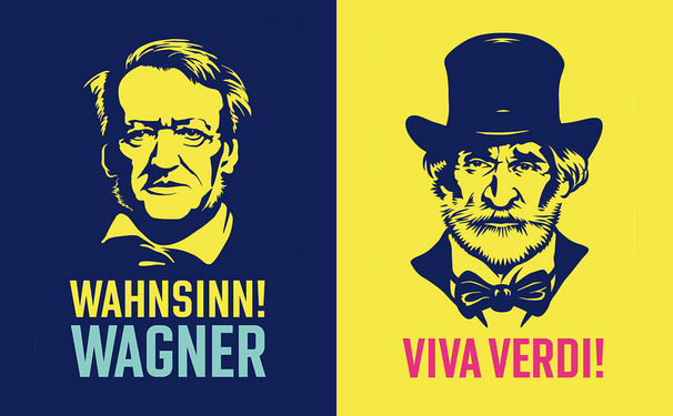 Richard Wagner, Verdi und Wagner