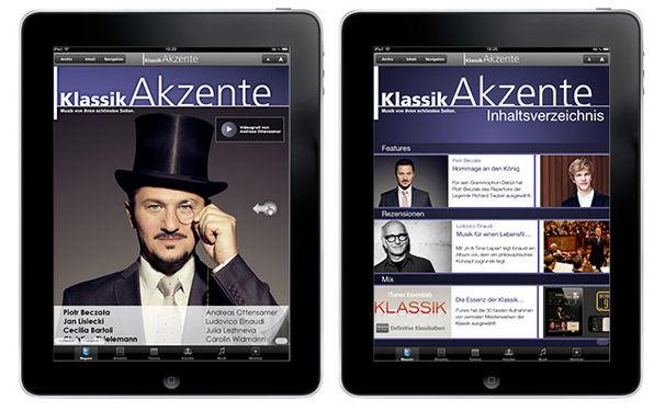 KlassikAkzente iPad App: Die vierte Ausgabe ist jetzt erschienen