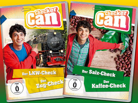 Checker Can, Jetzt gewinnen: 3x ein tolles DVD-Paket