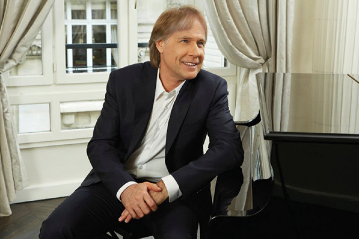 Richard Clayderman am Klavier