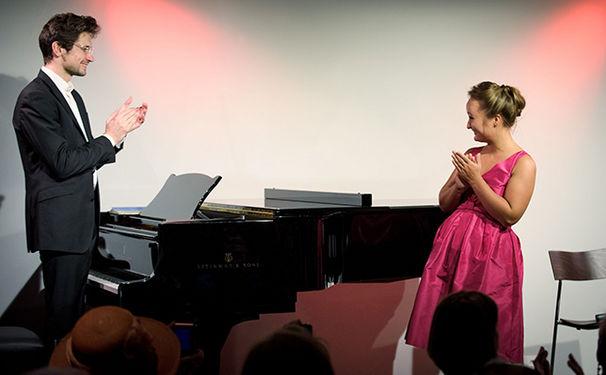 Julia Lezhneva, Julia Lezhneva war live auf der Dussmann-Kulturbühne