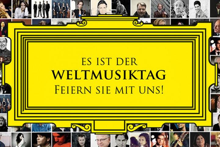 Deutsche Grammophon feiert den Weltmusiktag
