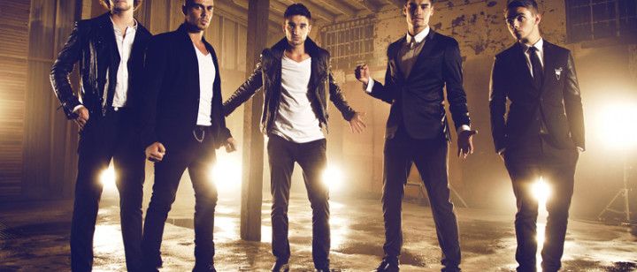 The Wanted Walks Like Rihanna 2013