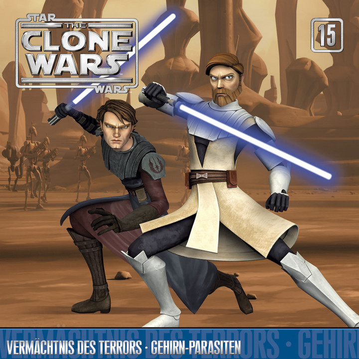 The Clone Wars - 15: Vermächtnis des Terrors/ Gehirn-Parasiten
