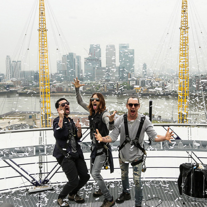 thirty seconds to mars london