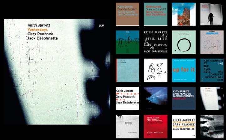 Keith Jarrett Trio , 'Yesterdays'